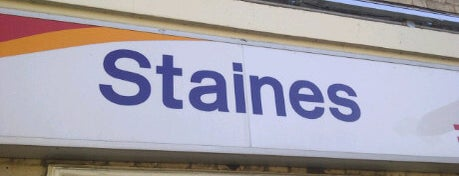 Staines Railway Station (SNS) is one of Railway Stations in UK.