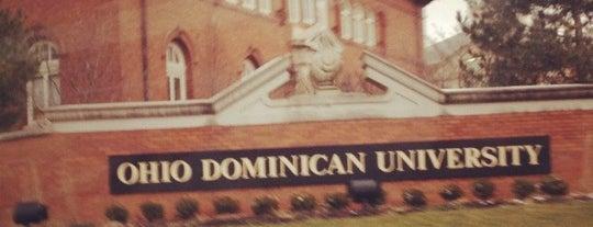 Ohio Dominican University is one of The Buckeye Bucket List.