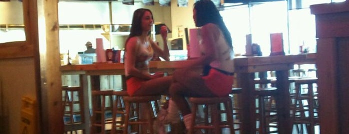 Hooters is one of Happy Hour? Happy day!.