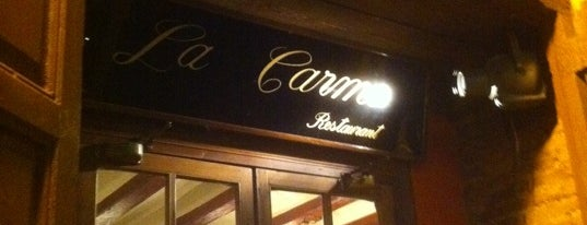 Restaurant La Carme is one of ESPAÑA-ESPAGNE-SPAIN IS DIFFERENT.
