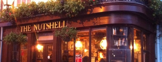 The Nutshell is one of The Pubs and bars of Bury St Edmunds.