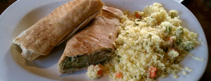 Taza Lebanese Grill is one of Places tried: recommend.