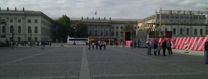 Bebelplatz is one of Berlin, Germany.