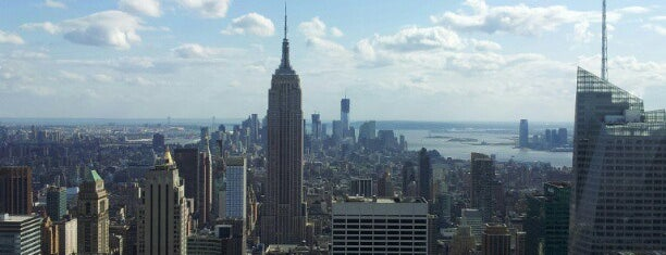 Top of the Rock Observation Deck is one of 101 places to see in Manhattan before you die.