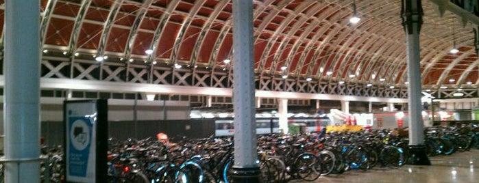 London Paddington Railway Station (PAD) is one of Train stations.