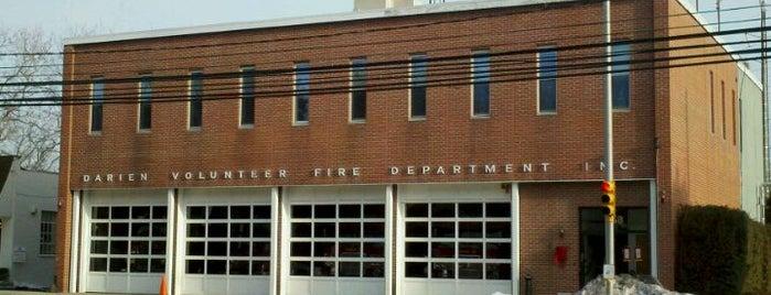 Darien Volunteer Fire Department is one of Today.