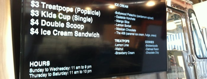 Treatbot is one of Ice Cream places in Bay Area.