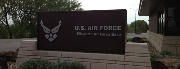 Ellsworth Air Force Base is one of AFBs.