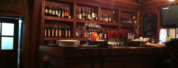 Трюм is one of мои рестораны.