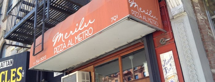 Merilu Pizza Al Metro is one of USA NYC MAN Midtown West.