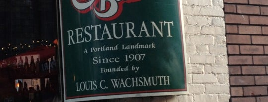Dan & Louis Oyster Bar is one of Favorite places in Portland.