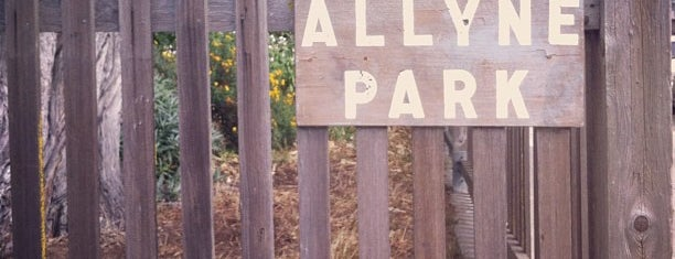 Allyne Park is one of Top picks for Parks.