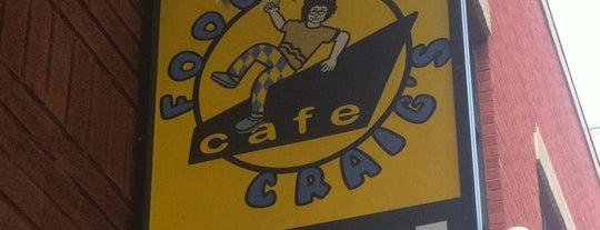 "Foolish Craig's Cafe is one of ""Diners, Drive-Ins & Dives"" (Part 1, AL - KS)."