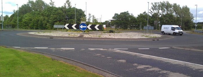 Wholeflats Roundabout is one of Named Roundabouts in Central Scotland.