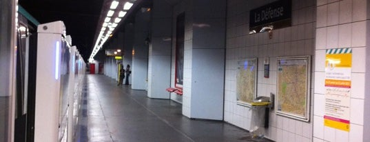 Stations de metro a Paris