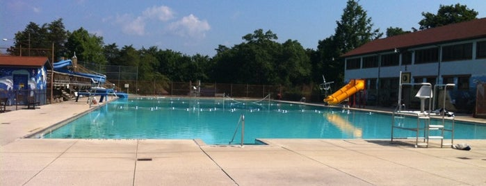 Constitution Park Pool is one of Places that make C-land bearable.