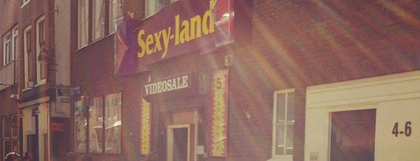 Sexyland is one of The Pop-Up City Guide to Amsterdam.