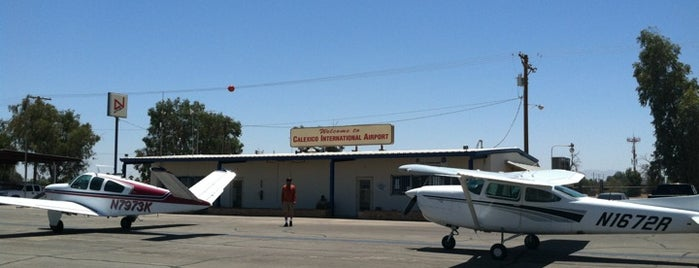 Calexico International Airport (CXL) is one of Celebrity Hangouts.