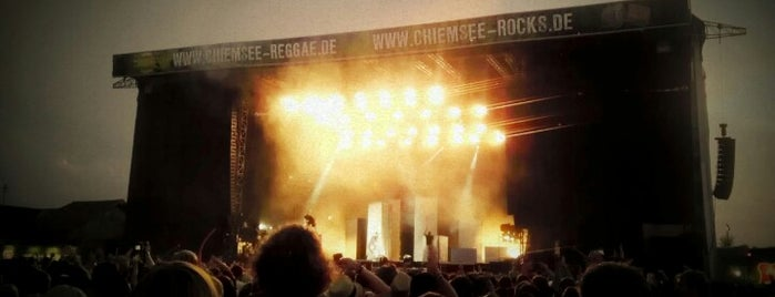 Chiemsee Rocks is one of Festivals on Foursquare.