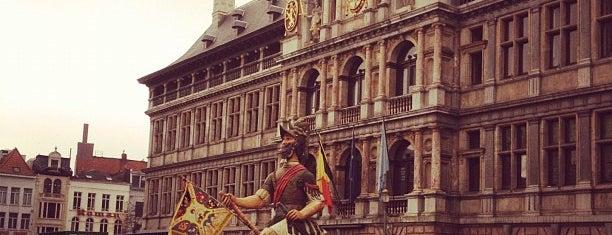 Grote Markt is one of Antwerp Gems #4sqCities.