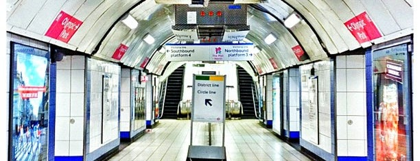 Victoria London Underground Station is one of District Line.