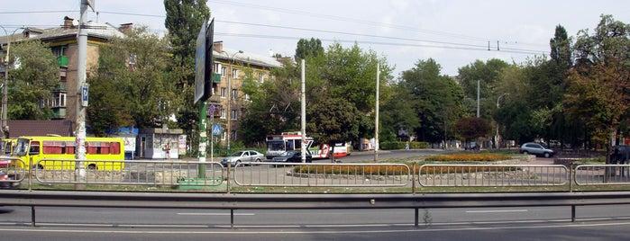 Kosmonavtiv Square is one of Площади города Киева.