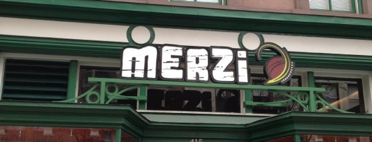 Merzi is one of Places to go in DC.