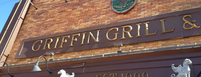 Griffin Grill & Pub is one of Must-visit Bars in Battle Creek.