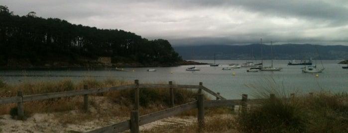 Praia de Baltar is one of Pontevedra.