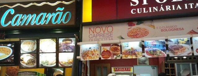 Spoleto Culinária Italiana is one of Shopping SP Market.