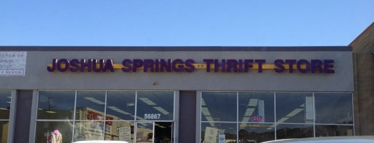 Joshua Springs Thrift Shop is one of Vintage.