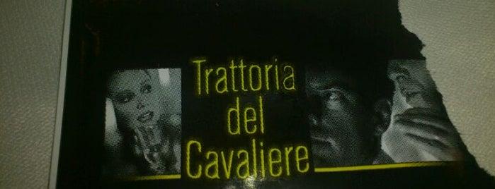 Trattoria del Cavaliere is one of Where find City Map.