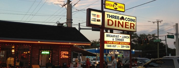 Three Coins Diner is one of My list.