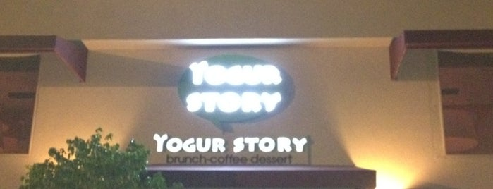 YogurStory is one of food<3.