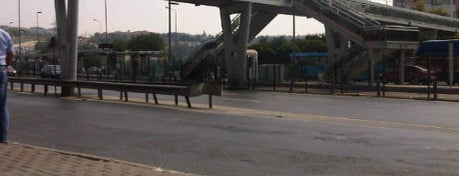 Küçükçekmece Metrobüs Durağı is one of Metrobüs Durakları.