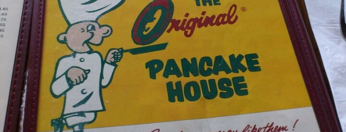 The Original Pancake House is one of 2011 Dining Out for Life San Diego.