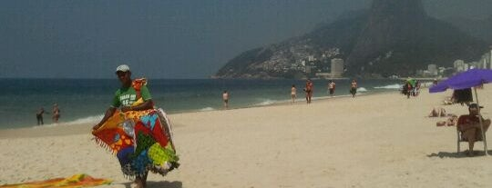 Praia de Ipanema is one of Rio de Janeiro's best places ever #4sqCities.