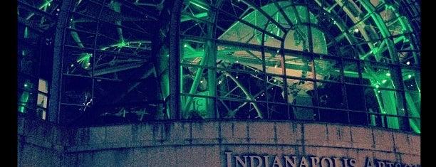 Indianapolis Artsgarden is one of Exploring Indy #4sqCities #VisitUS.