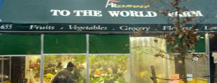 To The World Farm is one of Groceries.