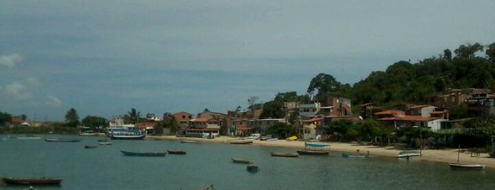 Ilha de Itaparica is one of Points de Salvador.