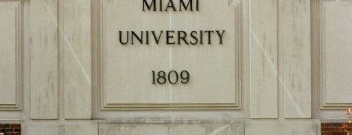 Miami University is one of bowling green.
