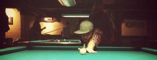 Bedrock Billiards is one of crash course: dc.
