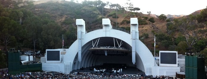 The Hollywood Bowl is one of The Great Outdoors in Los Angeles.