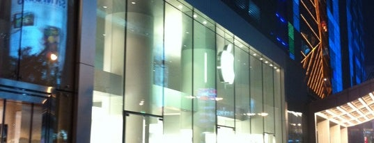 Apple 西单大悦城 is one of World Sites.