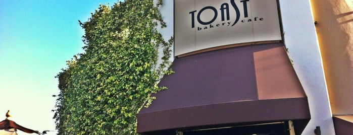 Toast Bakery & Café is one of LOVING LA!!.