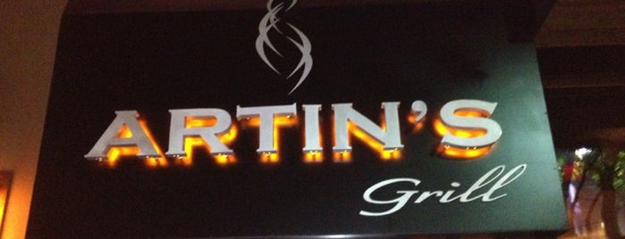 Artins Grill is one of Shops at Legacy.