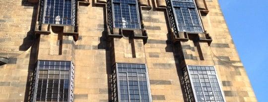 Glasgow School of Art is one of Essential Glasgow visits.