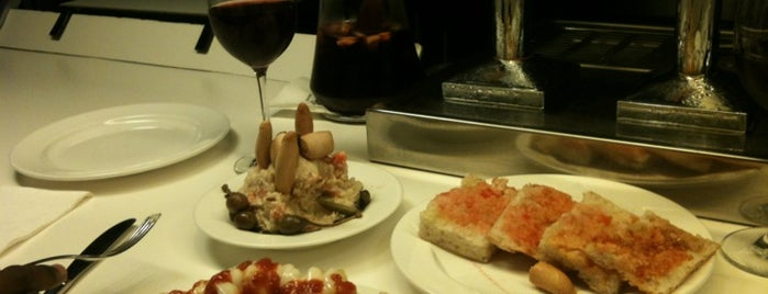 Tapeo is one of Barca Eats.