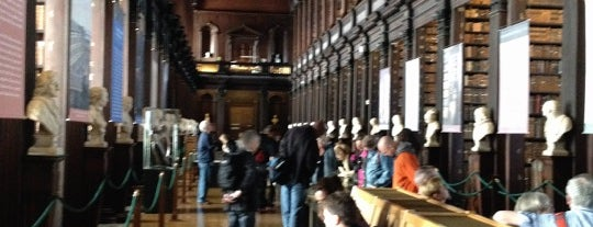 The Long Room is one of Dublin.
