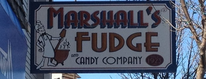 Marshall's Fudge & Candy Company is one of Guide to Mackinaw City's best spots.